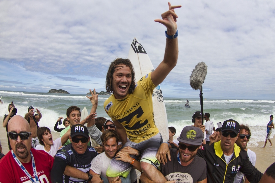 Jordy Smith Wins Billabong Rio Pro