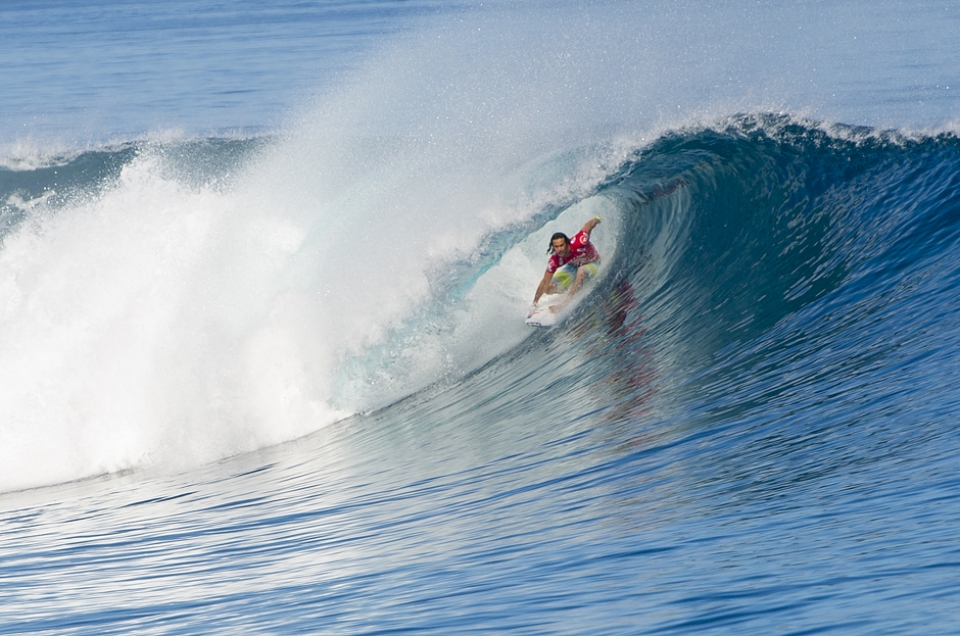 Jordy Smith and the Fijian tunnel of love.