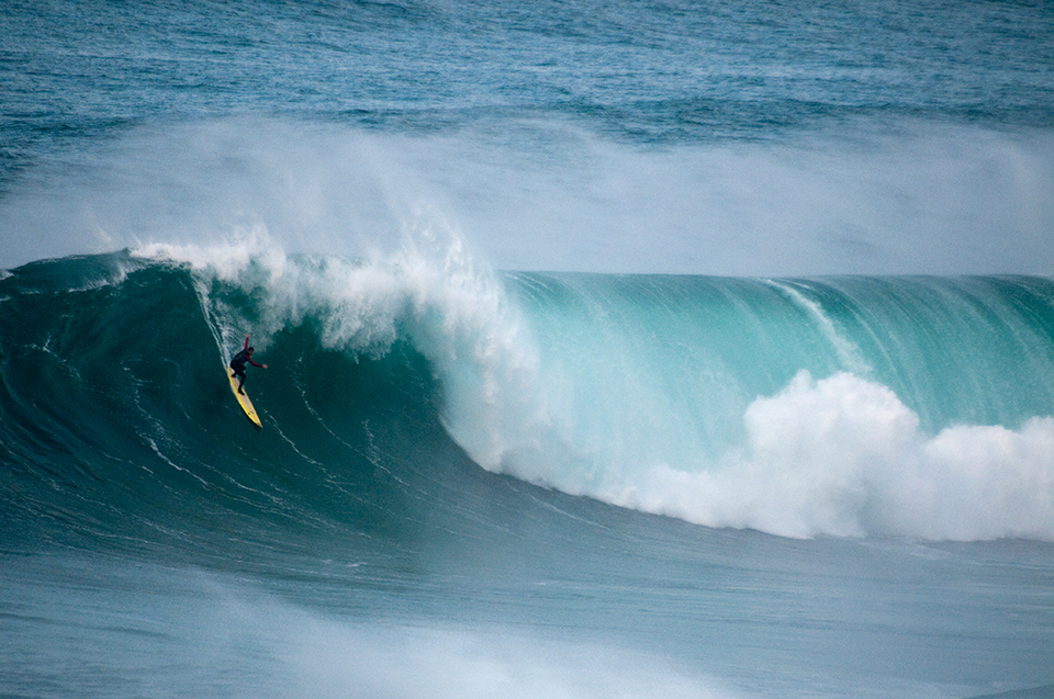 Tom Butler overcomes fear when surfing with good preparation