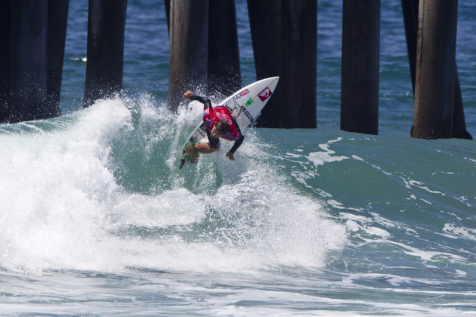 Aritz Aranburu is another eyening up a 2014 ASP  Tour spot came in 2nd to Mitchel Coleborn.