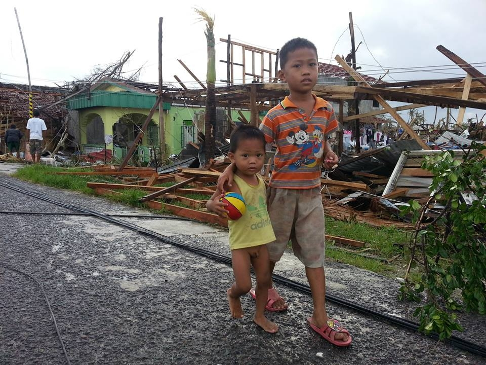 """A visibly shaken mayor of Davao upon visiting Tacloban had this to say """"I think that God was somewhere else when this typhoon hit, He did not remember us here on earth"""""""