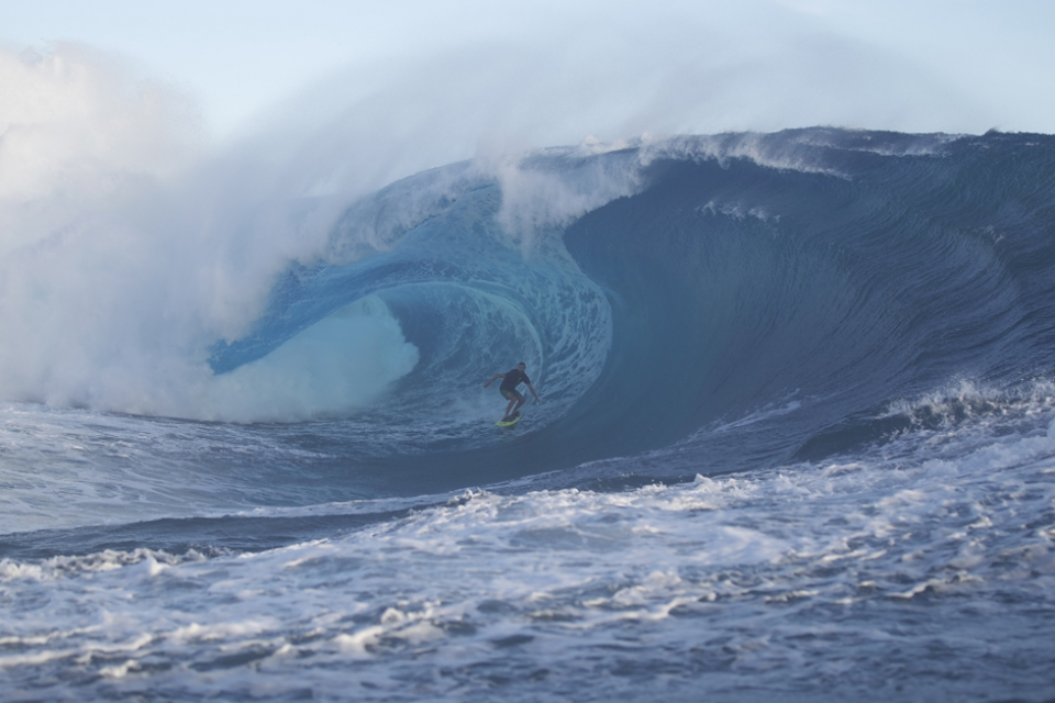 Kohl Christensen under a lip full of intent