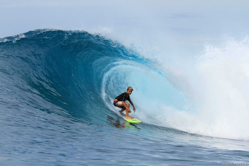 Ryder Guest exiting a solid Rags Right tube
