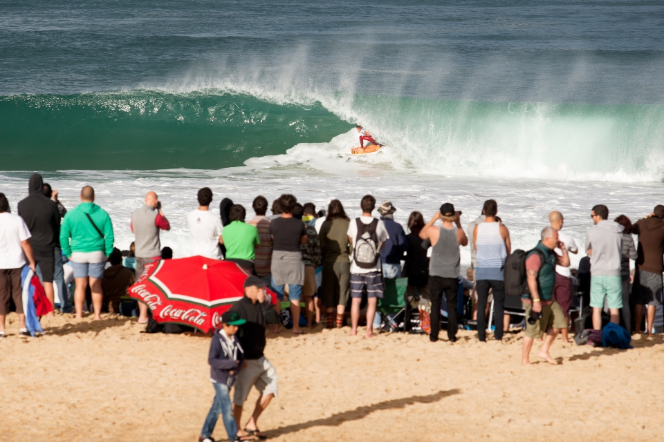Pat Gudauskas failed to find the makable corners in his third round heat against Parko.