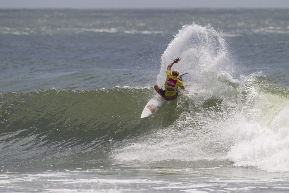 Patrick Gudauskas has a point to prove after being the best surfer to fall off tour in 2012