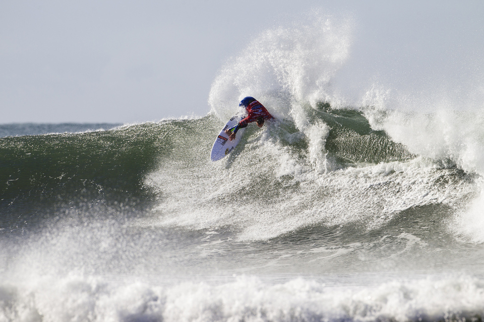 CJ Hobgood lost out to Filipe Toledo in Round 5
