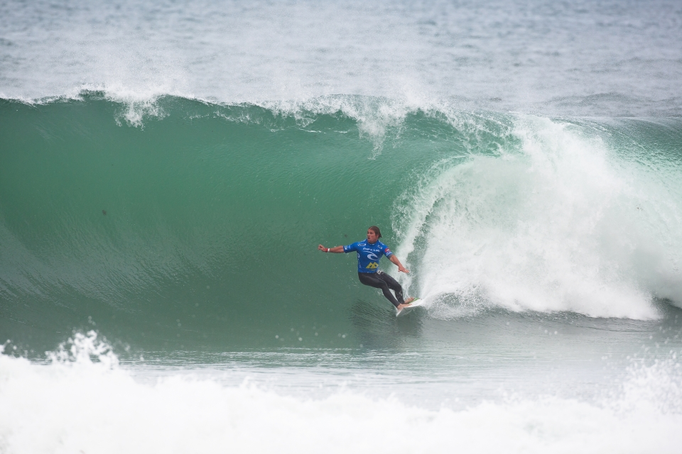 Damien wasn't quite so lucky, bowing out to the standout performer of the day, Julian Wilson.