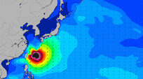 Super Typhoon Neoguri Delivers for Taiwan