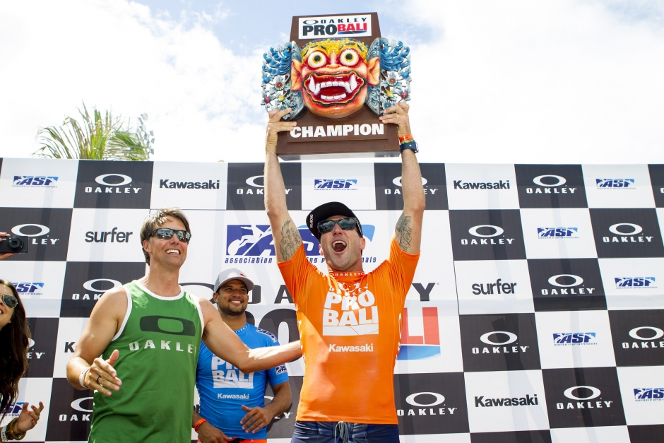 Parko wins The Oakley Bali Pro