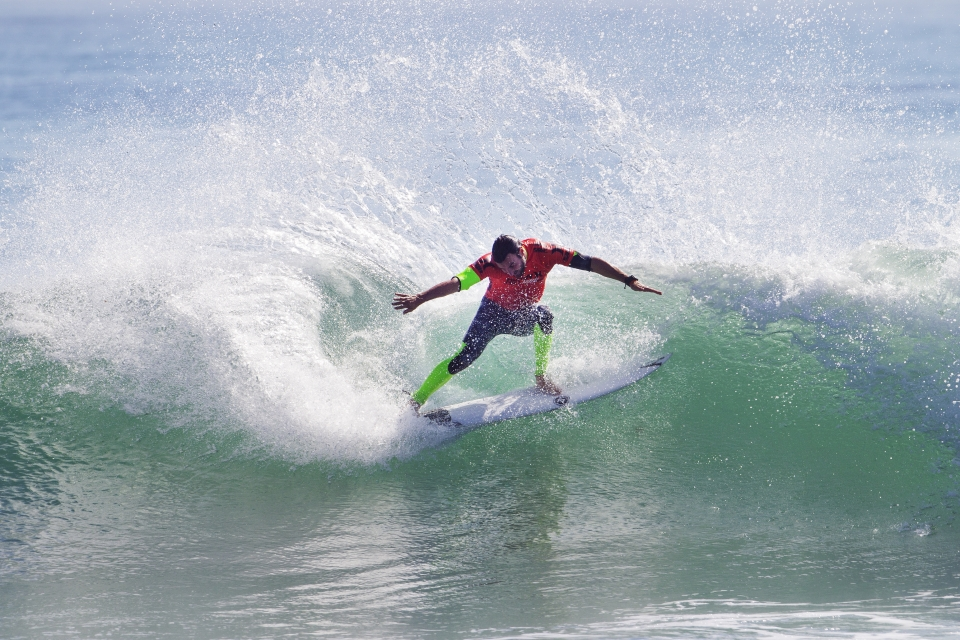 """""""This event always seems to be a bit of a momentum builder going in to the back half of the year,"""" Parkinson said. """"The guys that go on to make finals here always seem to do well. You definitely don't want to lose in Round 2 here so I'm happy to get a couple of good waves out there."""""""