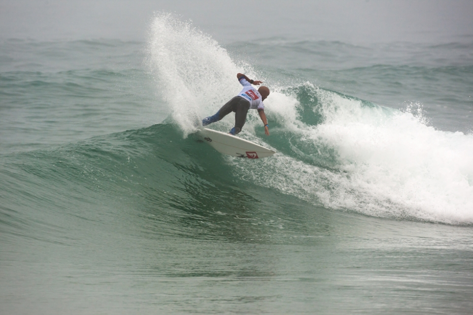 Freddy P appears to be a different surfer post injury, he's bulked up and found a new edge.
