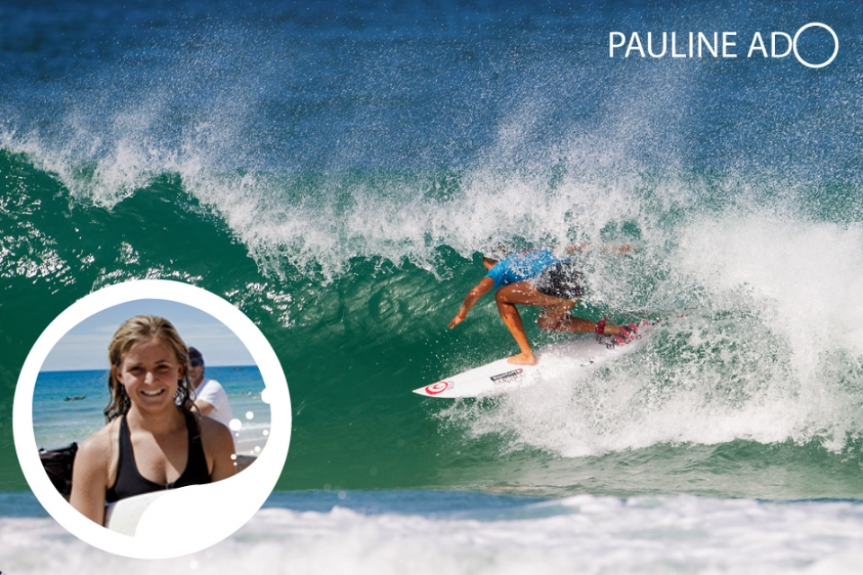 """Fingers crossed we get some classic conditions to put on a real show for the big summer beach crowds"", says Swatch Pro Team Rider, Pauline Ado.      Ado, who carries the torch for the Europeans on the elite ASP World Title Race, is now in her third year among the top 16 surfers in the world. Hailing from Hendaye in the French Basque Country, Ado gained international recognition by becoming ASP World Junior Champion aged 17, clinching ASP Europe Junior and Open titles, and now holds her own among the most progressive field of women surfers ever assembled. Clearly this well-rounded surfer is relishing the chance to compete in the famous French beachbreaks of Les Landes, admitting, ""I love competing at home in France, especially when Hossegor turns on perfect beachbreaks"