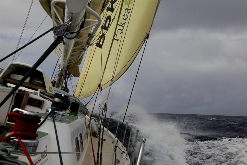 It was a mission. The legendary sailers channel,