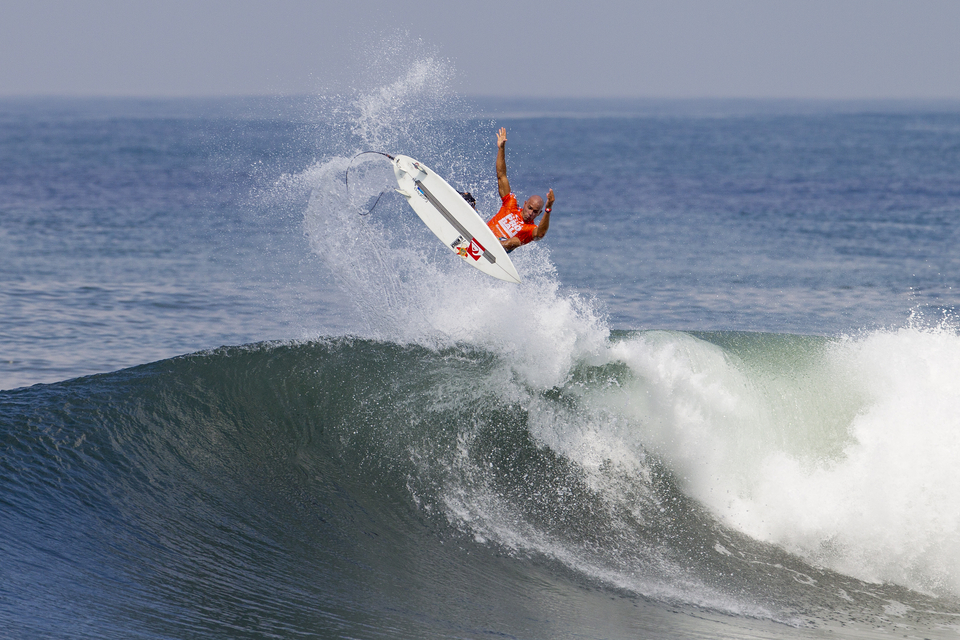 Kelly Slater's got plenty of pop.