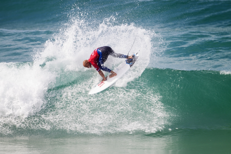 Kelly Slater dropped a buzzer beater winner as is his way.