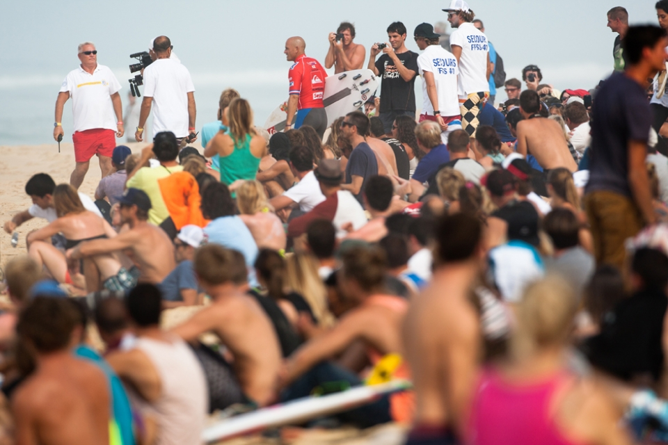 Kelly Slater is really popular and has spent approximately 1/3 of his life signing bits of paper for other people.