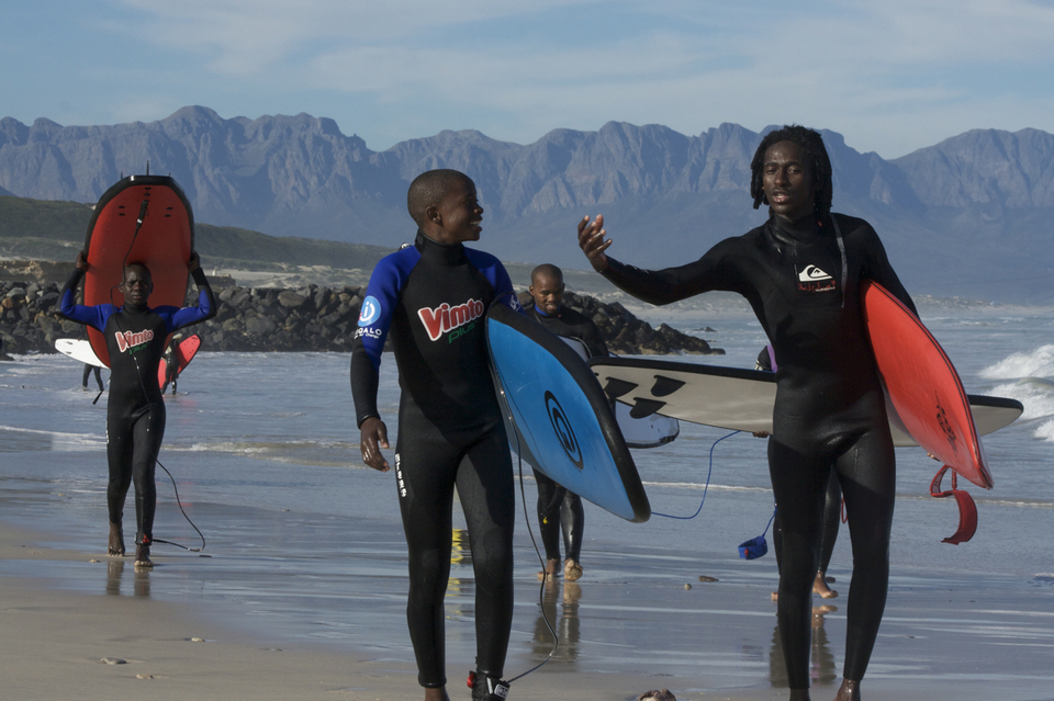 Spreading the stoke and surfing go hand-in-hand .. that's the beauty