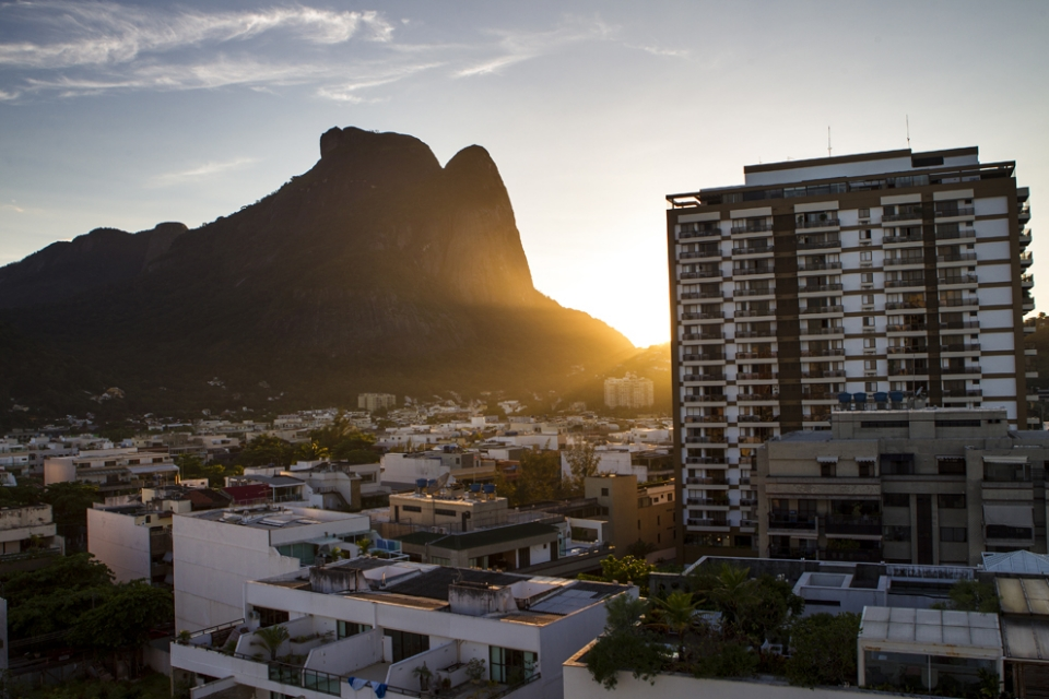 Sunrise over Rio