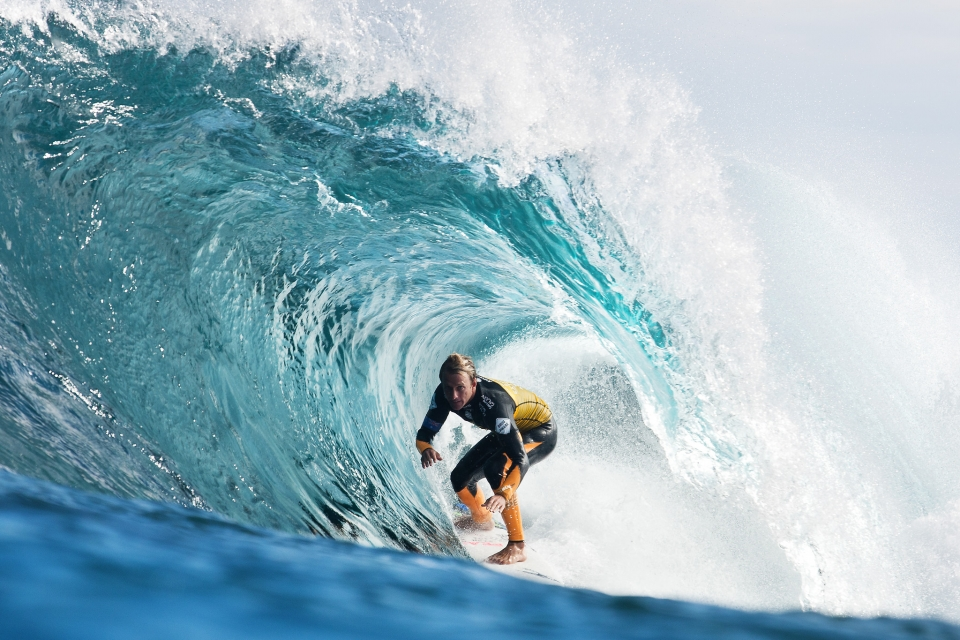 """The Box is actually a pretty easy wave,"" said Josh Kerr."