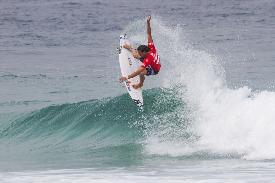 Last year's event winner, Jordy Smith.