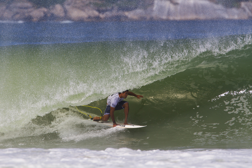 The conditions varied from dredging barrels to windy walls. The secret to Michel's victory was his ability to adapt.