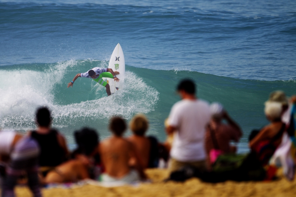 Filipe Toledo is the spin to win king, but he nailed a score with turns.