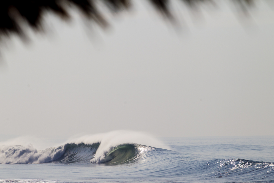 Indo might be the land of lefts but Keramas is not one of those.