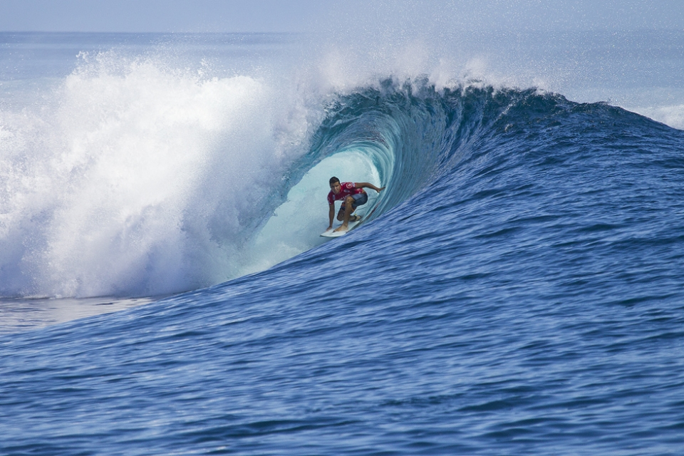 Julian Wilson in into Rd 2