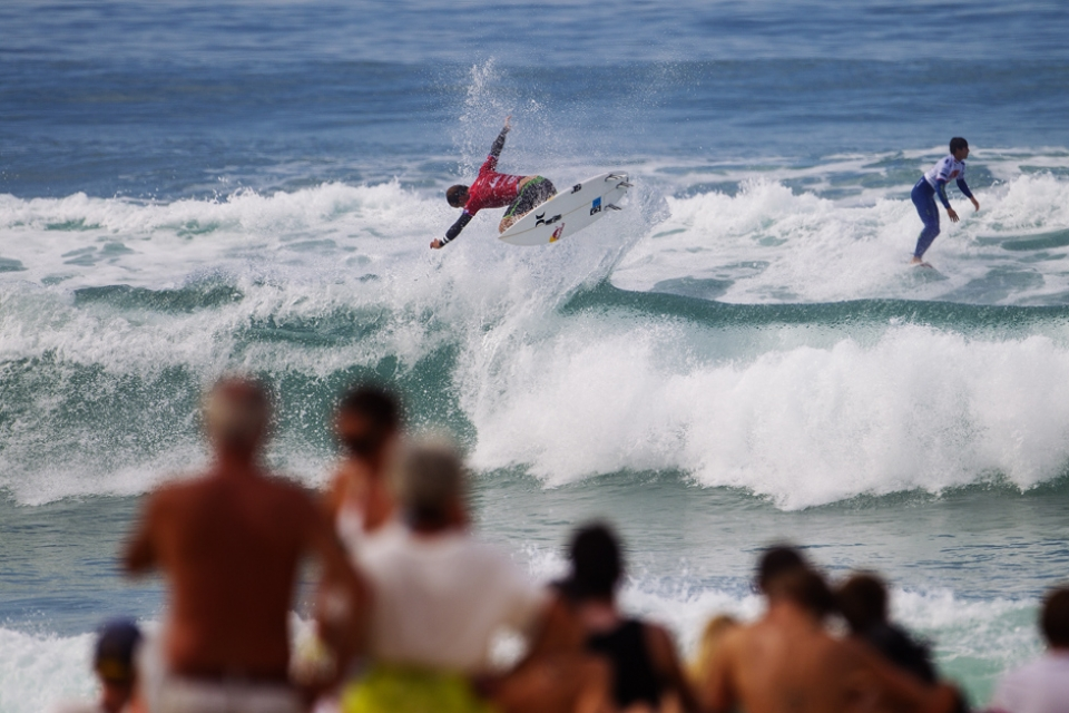 Julian Wilson just held on and looks in ominous form.