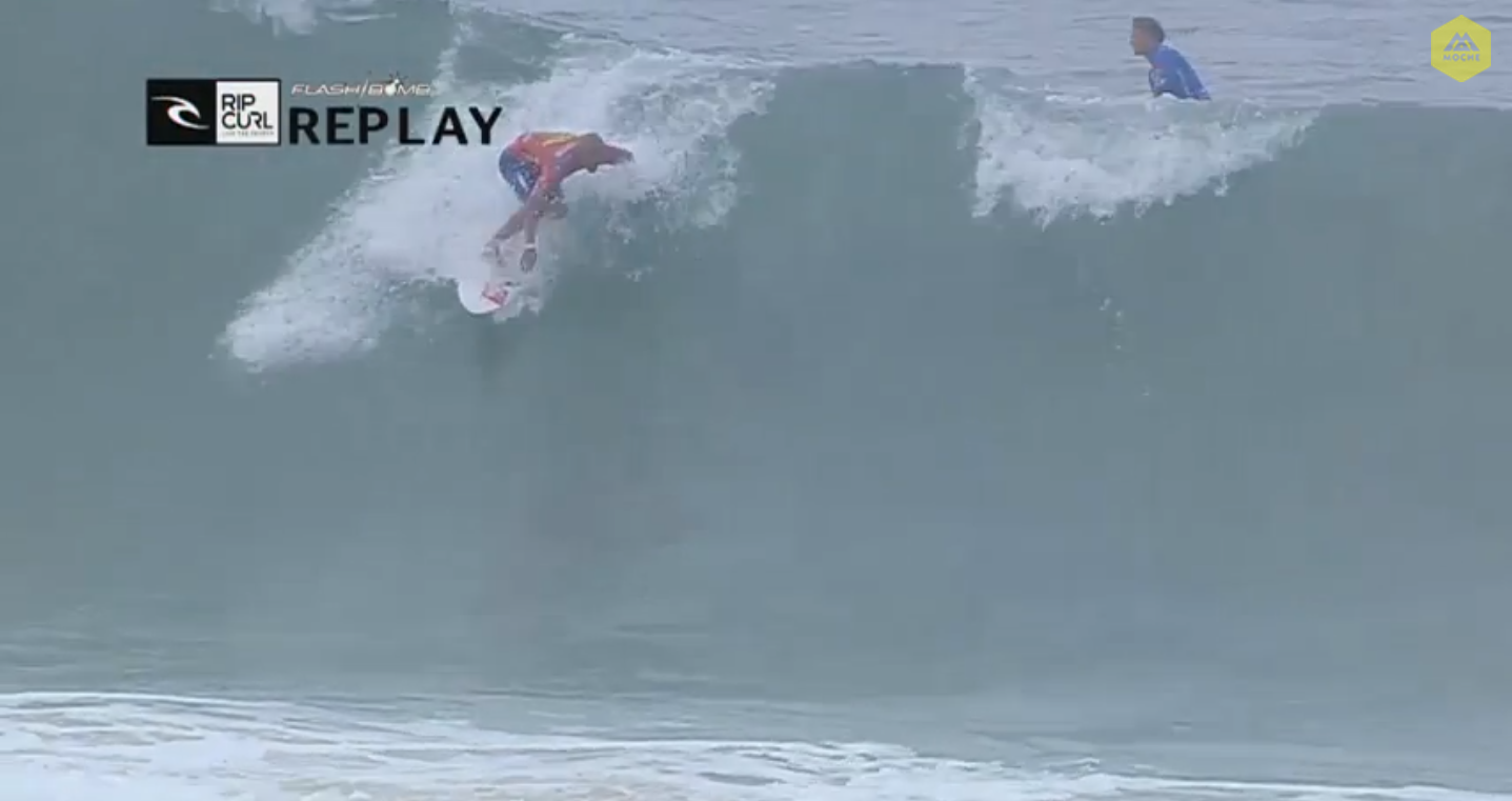 This lip crumble was enough to give Gudauskas an interference, simultaneously slashing his chances of qualifying for the 'CT next year.