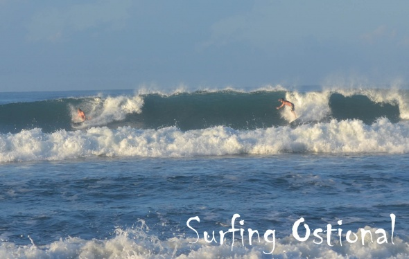 Surf report photo of Ostional