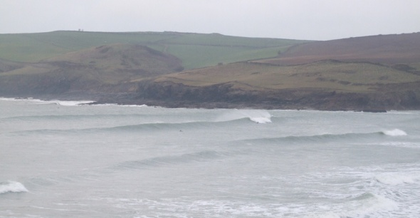 Surf report photo of Polzeath