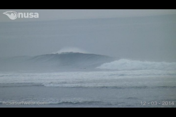 Surf report photo of Nusa Dua