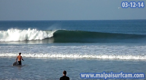Surf report photo of Playa Santa Teresa
