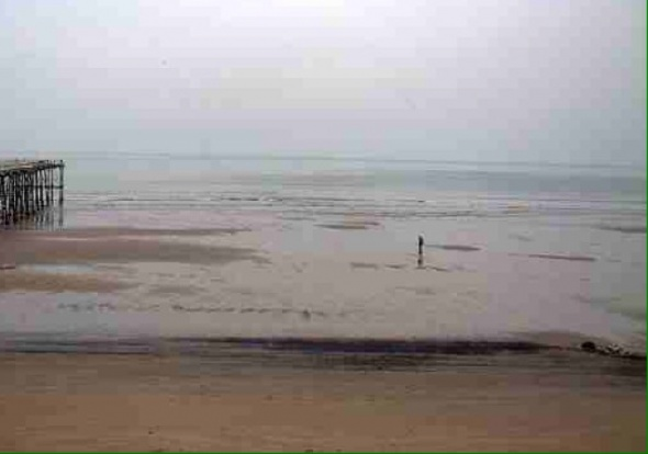Surf report photo of Saltburn Beach