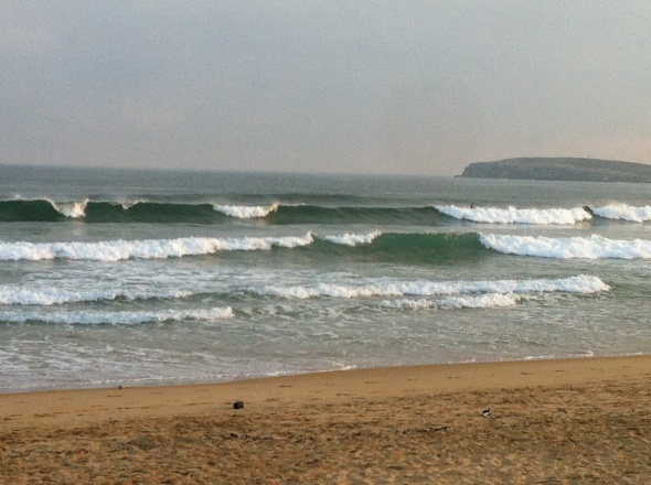 Surf report photo of Playa de Somo