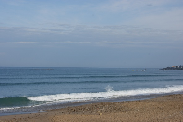 Surf report photo of Les Dunes