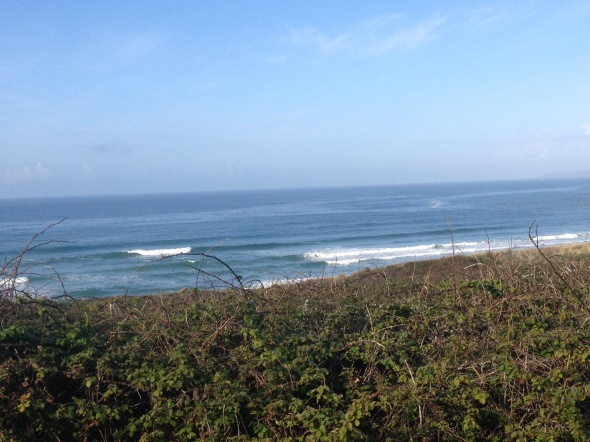 Surf report photo of Praa Sands