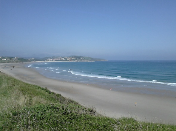 Surf report photo of Playa de Meron