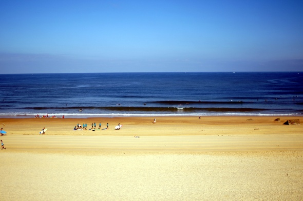 Surf report photo of Capbreton (La Piste/VVF)