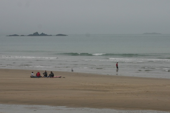 Surf report photo of Whitesands Bay