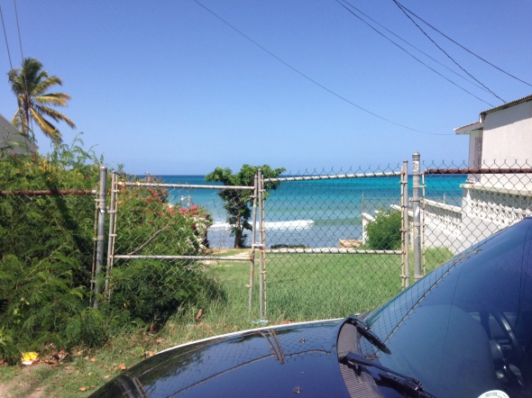 Surf report photo of South Point - Barbados