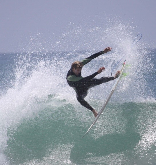 Peter Dive's photo of Trestles