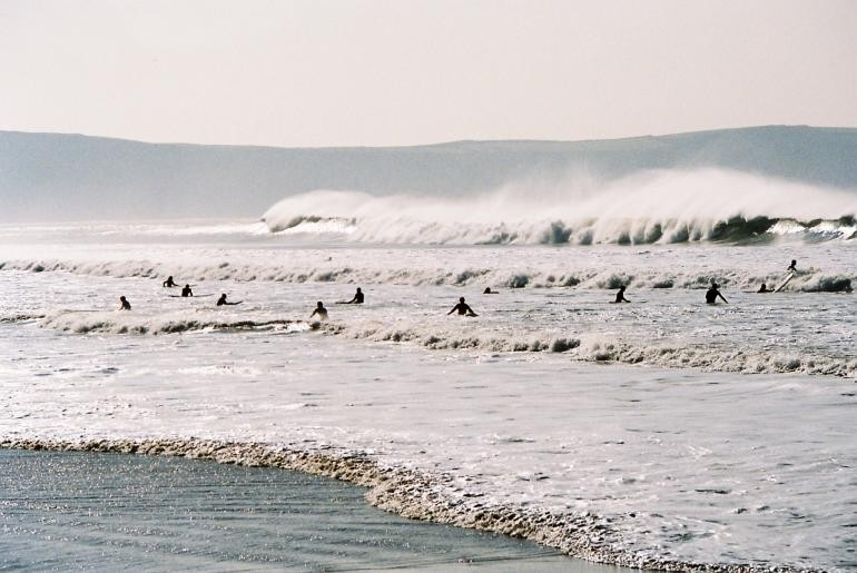 P Marchant's photo of Croyde Beach