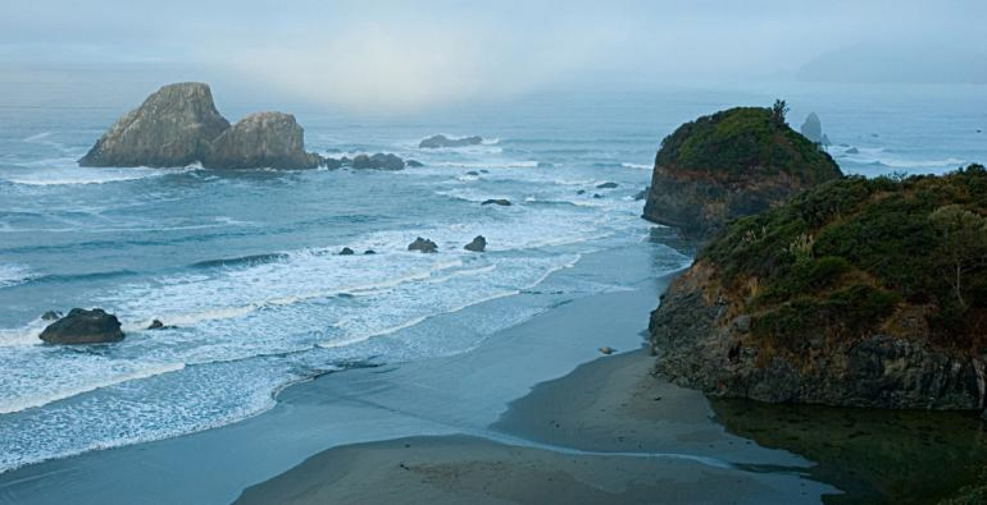Haeger's photo of Moonstone beach