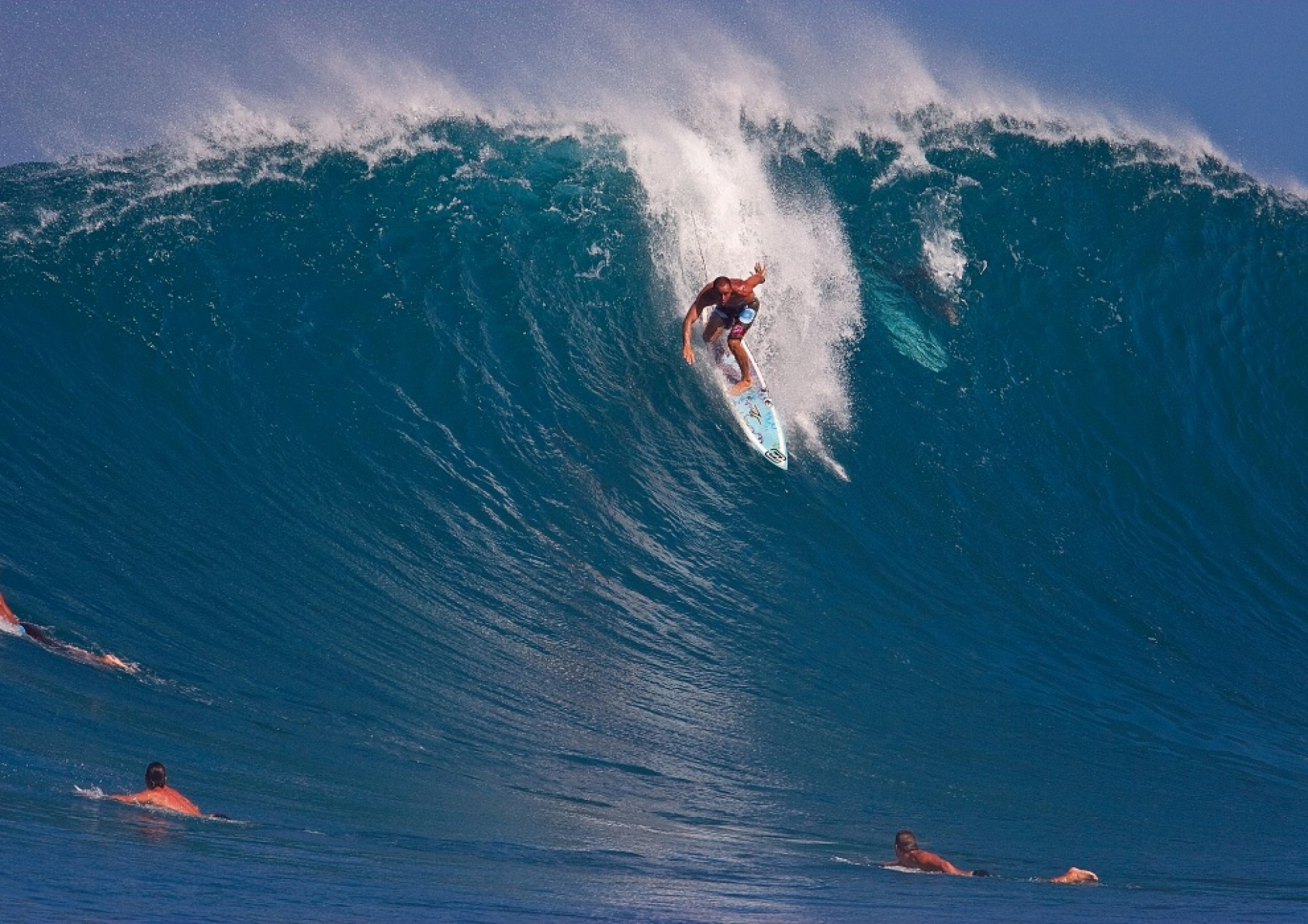 Sharpy's photo of Pipeline & Backdoor