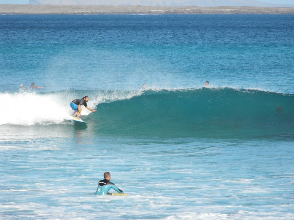supertramp surfer's photo of Playa de La Canteria