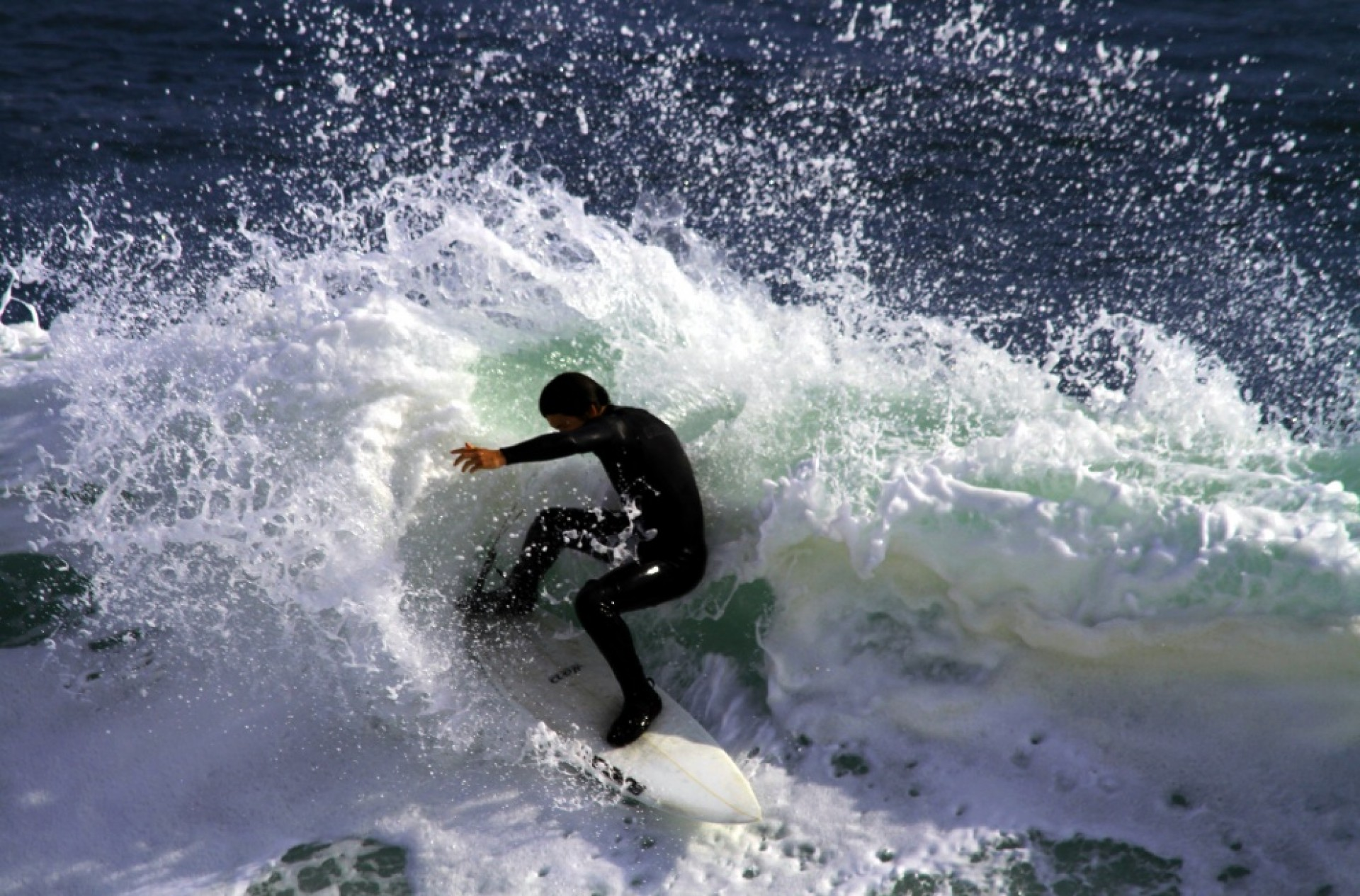 Bruce Anderson's photo of Steamer Lane