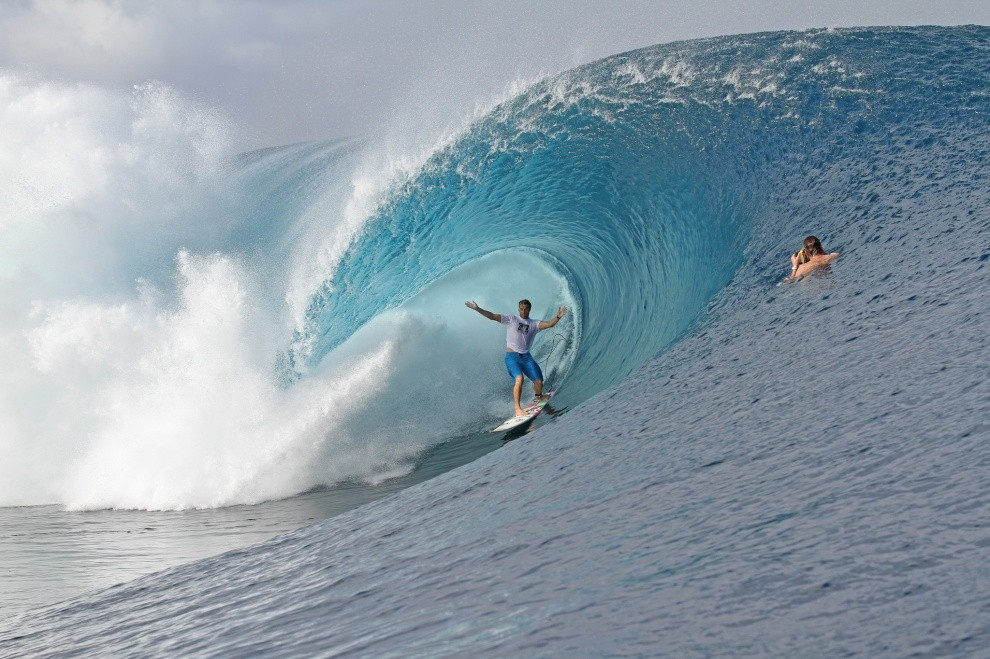 Ed Magicseaweed's photo of Teahupoo