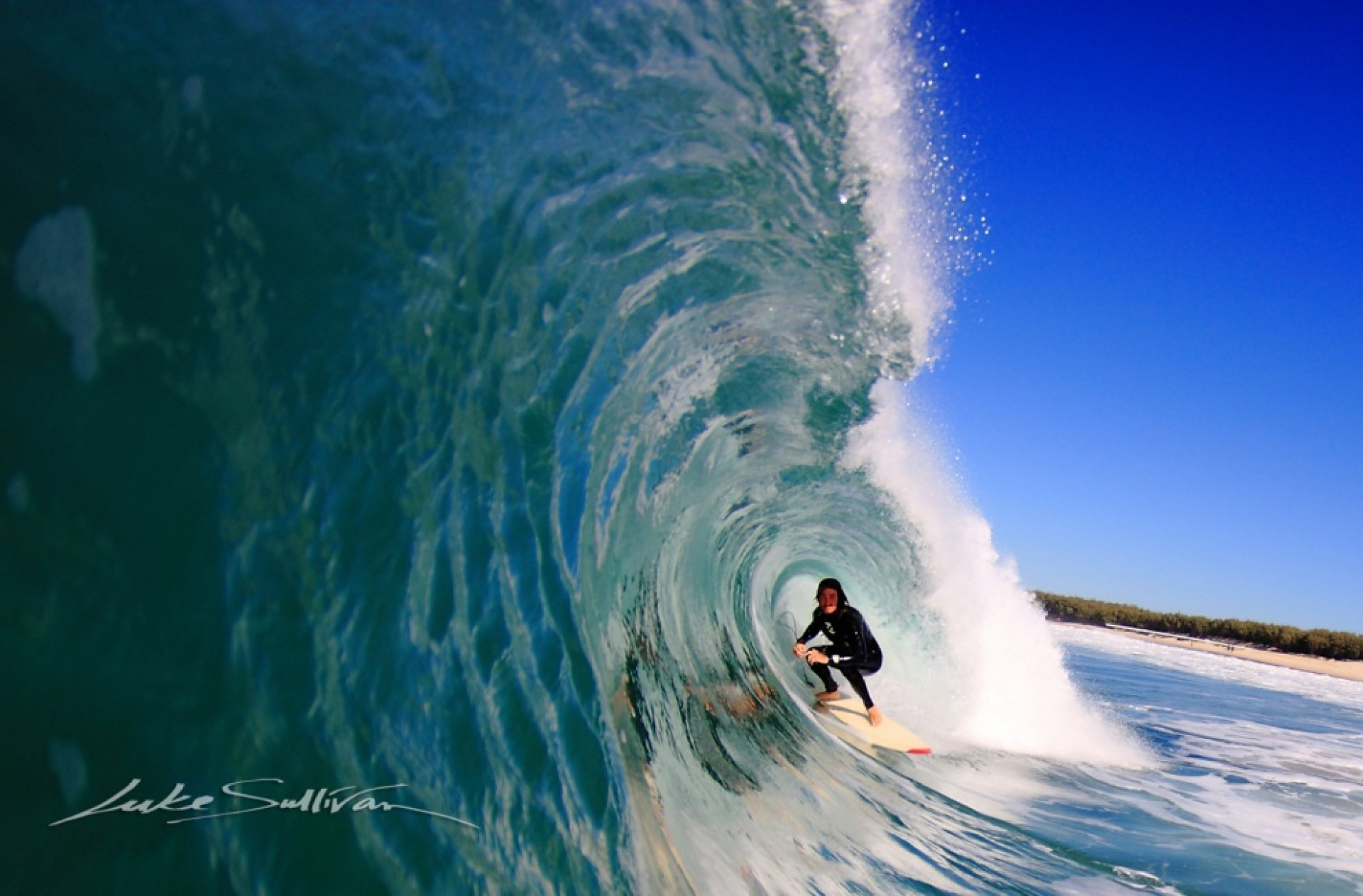 luke sullivan's photo of South Stradbroke Island